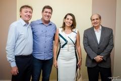 Maurício Filizola, Luiz Gastão, Márcia Travessoni e José Tadros