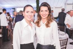 Águeda Muniz e Márcia Travessoni
