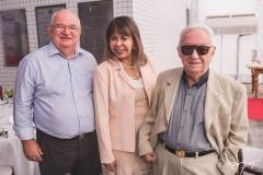 Albert Gradvohl, Selma Cabral e Fernando Maia