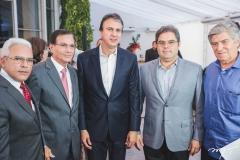 Almir Guilherme, Beto Studart, Camilo Santana, Edson Queiroz Neto e Amarílio Macêdo