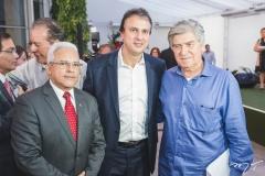 Almir Guilherme, Camilo Santana e Amarílio Macêdo