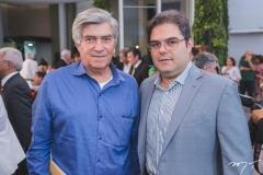 Amarílio Macêdo e Edson Queiroz Neto