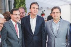 Beto Studart, Camilo Santana e Edson Queiroz Neto