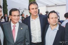 Beto Studart, Camilo Santana e Igor Queiroz Barroso