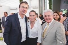 Camilo Santana, Águeda Muniz e Deusmar Queirós