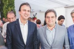 Camilo Santana e Edson Queiroz Neto