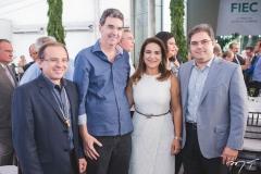 Carlos Matos, Geraldo Gurgel, Patrícia Macêdo e Edson Queiroz Neto