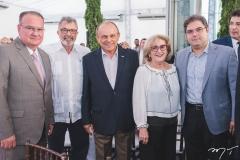 Chiquinho Feitosa, Eudoro Santana, Honório Pinheiro, Socorro França e Edson Queiroz Neto