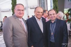 Chiquinho Feitosa, Honório Pinheiro e Carlos Matos