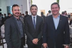 Danilo Serpa, André Facó e Lúcio Ferreira Gomes