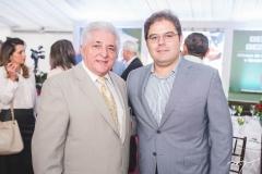 Deusmar Queirós e Edson Queiroz Neto