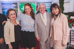Eliane Pimentel, Fátima Duarte, Deusmar Queirós e Selma Cabral