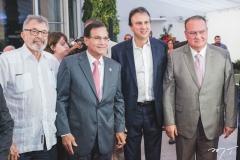 Eudoro Santana, Beto Studart, Camilo Santana e Chiquinho Feitosa