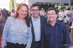 Fátima Duarte, Airton Gonçalves e Alcir Porto