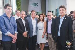 Geraldo Gurgel, Severino Ramalho Neto, Luiz Gastão Bittencourt, Patrícia Macêdo, Paulo César Norões e Marcos Oliveira