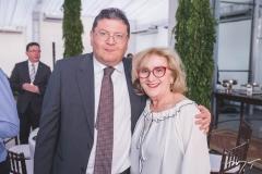 Hélio Leitão e Socorro França