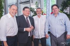Inácio Arruda, Hélio Leitão, Eudoro Santana e Osmar Baquit