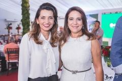 Márcia Travessoni e Patrícia Macêdo