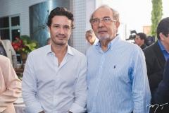 Marcelo Quinderé e João Teixeira