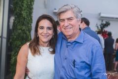 Patrícia e Amarílio Macêdo