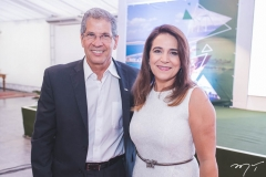 Severino Ramalho Neto e Patrícia Macêdo