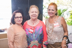 Ana Amélia Mendes, Mary Buarque e Fátima Borges