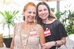 Fátima Borges e Ingrid Feitosa