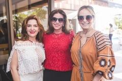Grace Leitão, Sandra Pinheiro e Andréa Fialho