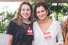 Ingrid Feitosa e Cecília Seligmann
