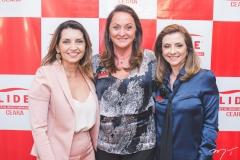Márcia Travessoni, Sônia Hess e Emília Buarque