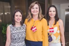 Rocália Dutra, Fátima Santana e Patrícia Studart