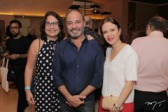Andrea e Marcos Novais E Manoela Correia