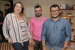 Luciana Malgarisi, Emanoel Cassiano E Idel Carlos