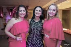 Cláudia Gradhvol, Neusa Rocha e Sandra Fujita