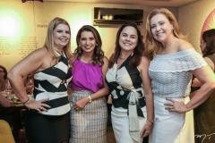 Daniele Pinheiro, Márcia Travessoni, Denise Cavalcante e Andreia Delfino