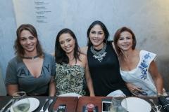 Elane Sá, Maria Belém, Izabela Fiuza e Cláudia Fujita