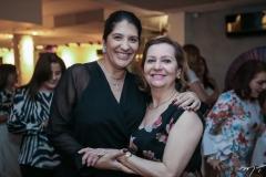 Elisa Oliveira e Madeline Girão