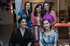 Elisa Oliveira, Lorena Pouchain, Martinha Assunção, Márcia Travessoni e Paula Barreira