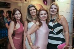 Ivana Maia, Elida Escócia, Sônia Praça e Daniele Pinheiro