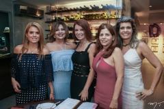 Leticia Studart, Montiele Arruda, Suzane Farias, Ivana Maia e Elida Escócia