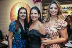 Lorena Pouchain, Maria Lucia Negrão e Tais Pinto