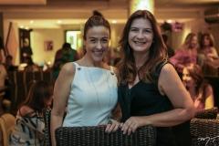 Luciana Martins e Lavinia Dubanhevitz