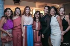 Márcia Travessoni, Cláudia Gradhvol, Cristiane Farias, Martinha Assunção, Elisa Oliveira, Ana Virginia Martins e Márcia Peixoto