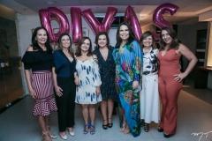 Marieta Brasileiro, Socorro Camurça, Paula Cunha, Andreia Rios, Rone Veras e Cristina Montenegro