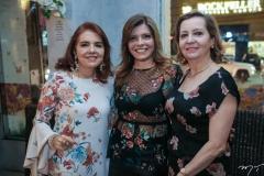 Silvana Brigido, Silvinha Carneiro e Madeline Girão