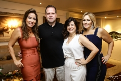Ana Vládia Sales, Edson Ventura Filho, Luciana Lobo e Márcia Peixoto