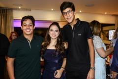 Felipe Studart, Bianca Aragão e Rafael Oliveira