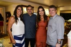 Georgiana Sales, Guedes Neto, Ana Vládia e Cássio Sales