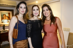 Gisele Siqueira, Ana Paula Barreira e Ana Vládia Sales
