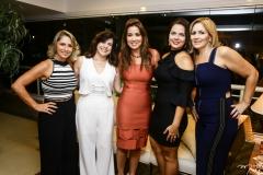 Katiane Valença, Luciana Lobo, Ana Vládia Sales, Rafaela Pessoa e Márcia Peixoto